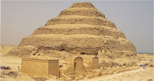 Imhotep, step pyramids and the buried pyramids of Africa