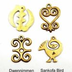 Adinkra symbols for intellectual and spiritual enlightenment