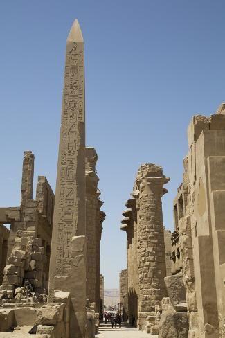 Obelisk_Tuthmoses_Karnak